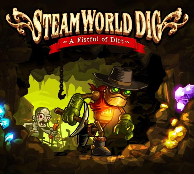 SteamWorld Dig- Promo Art