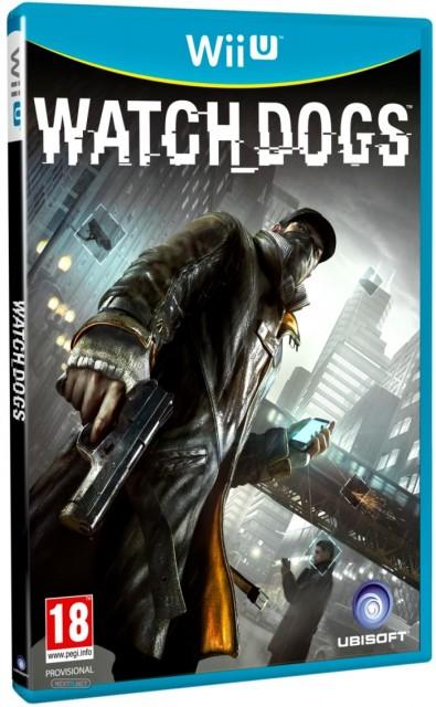 Watch Dogs - Wii U Box Art