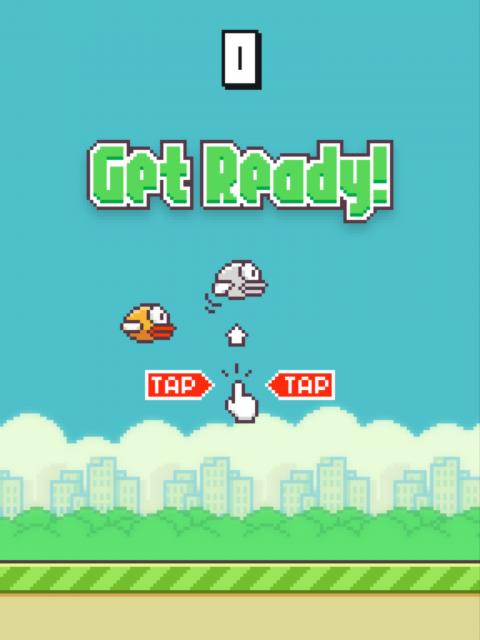 Flappy Bird - Gameplay