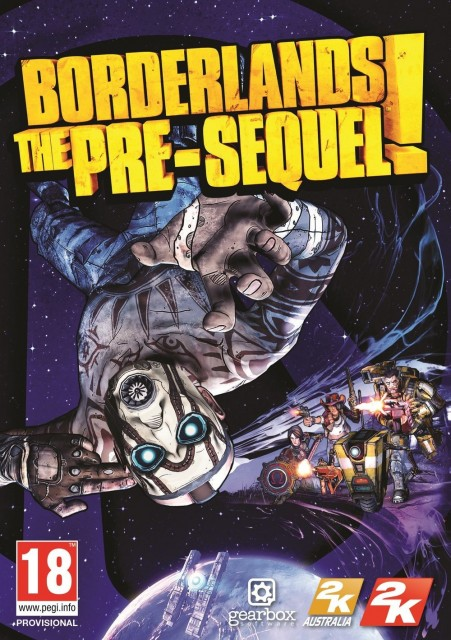 Borderlands- The Pre-Sequel - Box Art