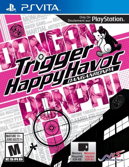 Danganronpa- Trigger Happy Havoc - Box Art