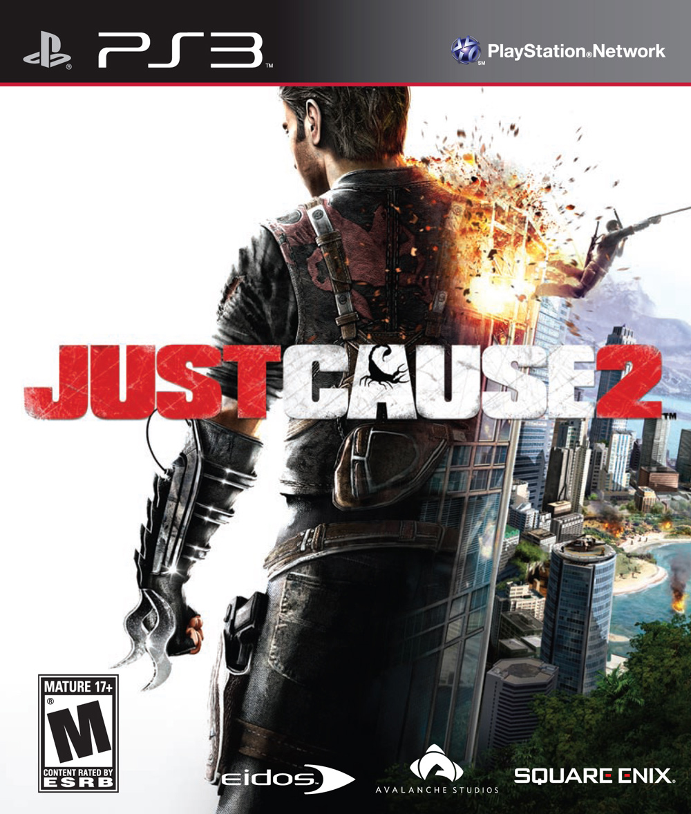 Just Cause 2 - PS3 box art