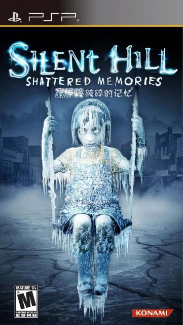 Silent Hill- Shattered Memories - PSP Box Art