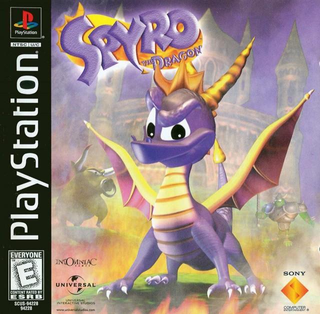 Spyro the Dragon - Box Art