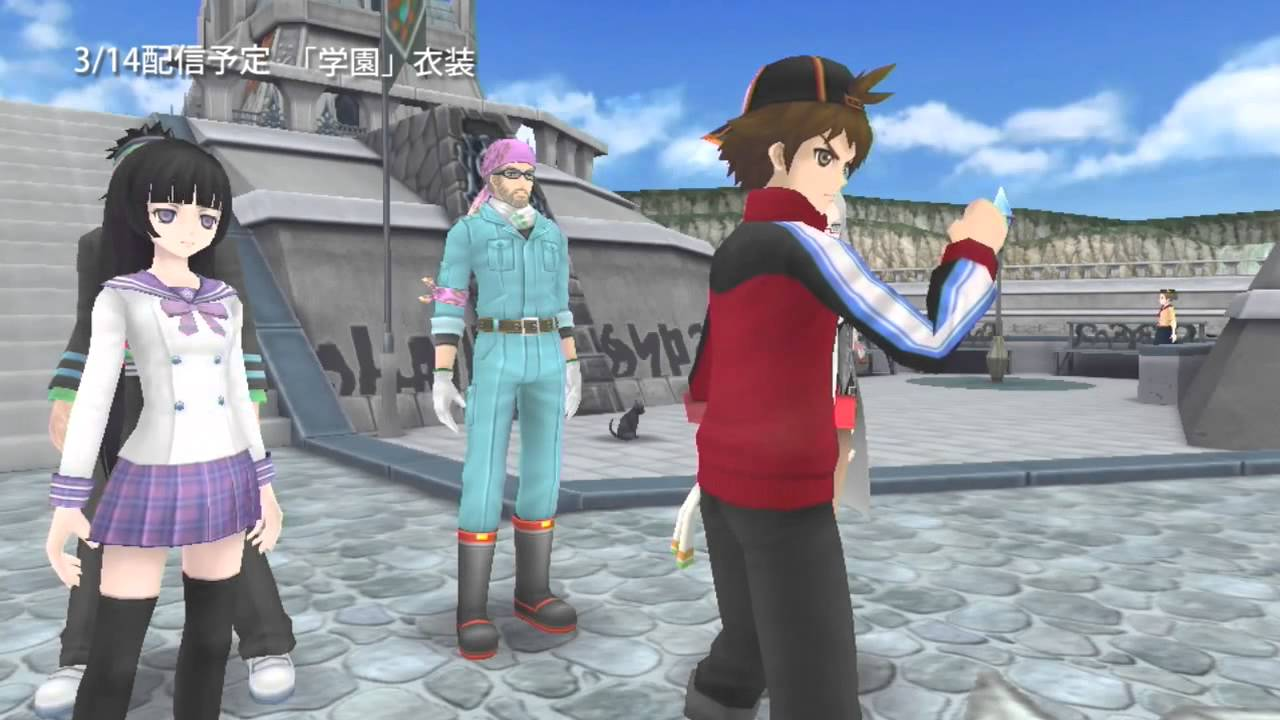 Tales of Hearts R - Gameplay