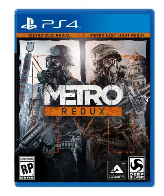 Metro Redux - PS4 box art