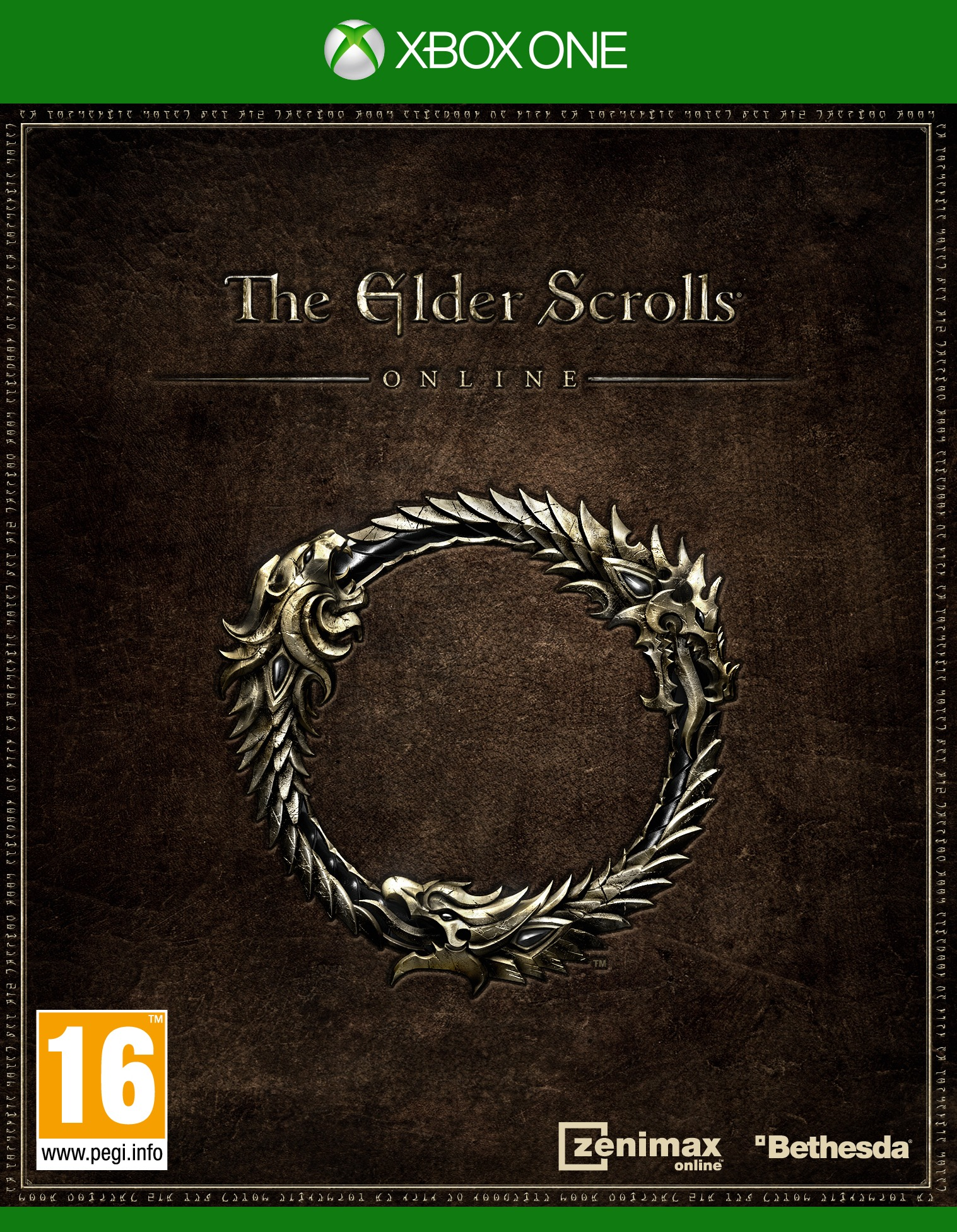 The Elder Scrolls Online - Xbox One box art