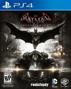Batman- Arkham Knight PS4 box art