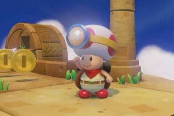 Captain Toad- Treasure Tracker - Gameplay