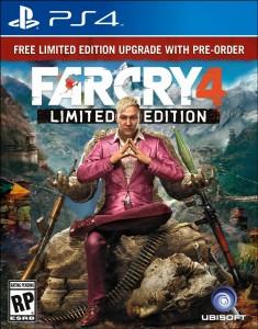 Far Cry 4 - PS4 box art