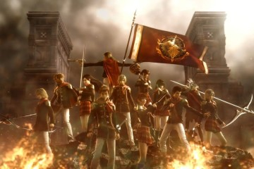 Final Fantasy Type-0 - Characters