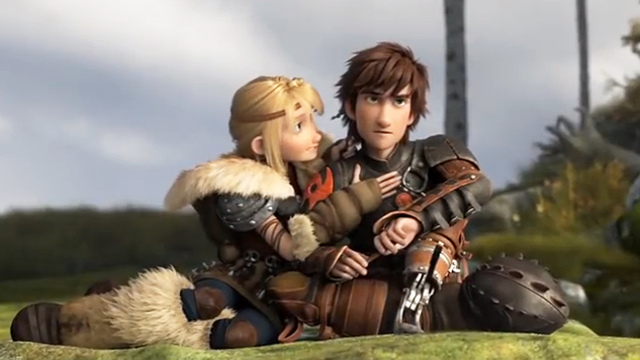 How to train a dragon girl astrid  softcore picture