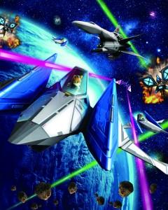 Star Fox 64 - Promo Art