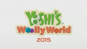 Yoshi's Woolly World - Title Logo