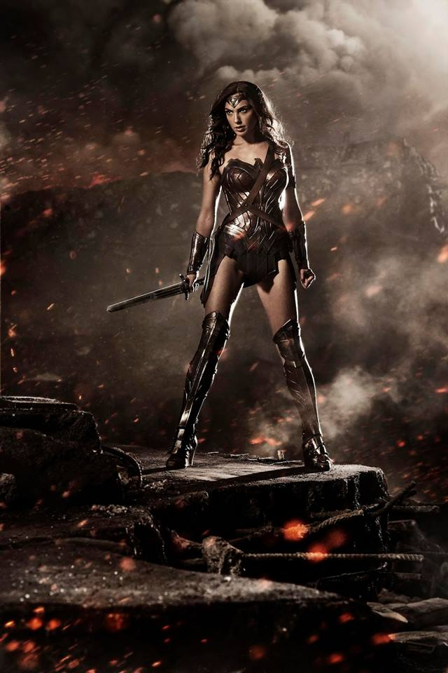Batman v Superman - Wonder Woman