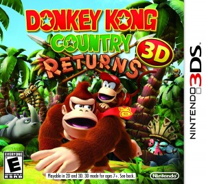 Donkey Kong Country Returns 3D - Box Art