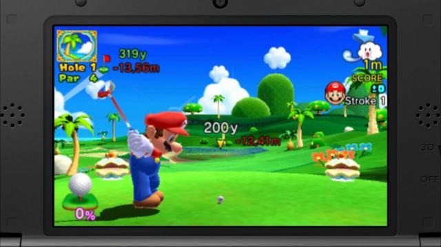 Mario Golf - Gameplay 1