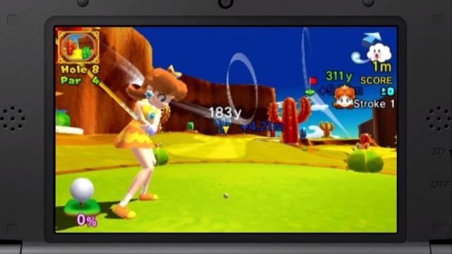 Mario Golf - Gameplay 6
