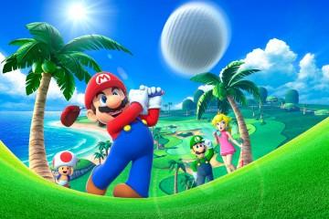 Mario Golf - Promo Art