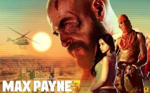 Max Payne 3 - Title Art