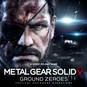 Metal Gear Solid V- Ground Zeroes - Title Art