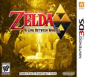 Zelda- A Link Between Worlds - Promo Art
