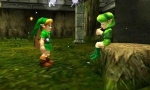 Zelda- Ocarina of Time 3D - Gameplay