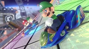 Mario Kart 8 - Blue Falcon
