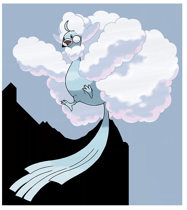 Pokemon Omega Ruby, Alpha Sapphire - Shiny Altaria