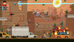 Super TIME Force - Gameplay