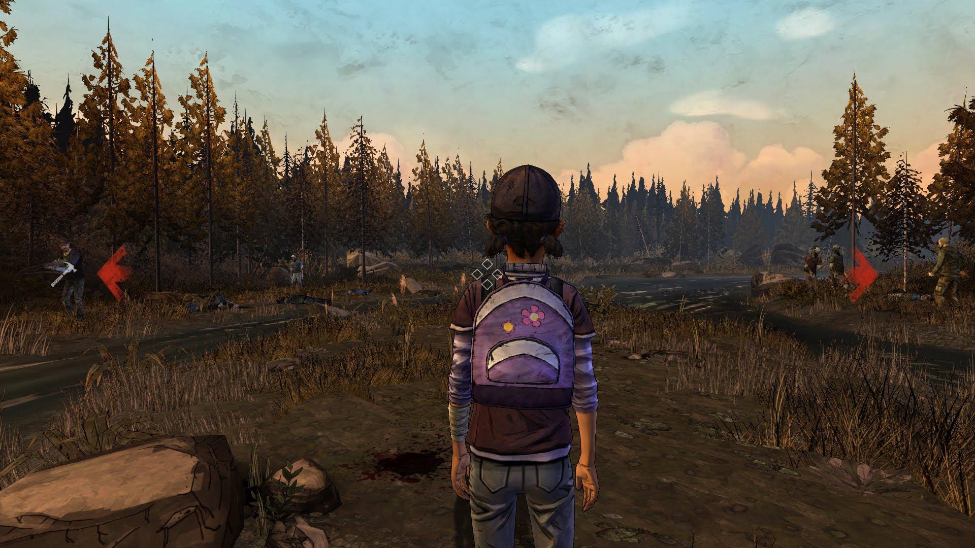 Telltales The Walking Dead Season Two Review Eggplante