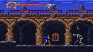 Castlevania- Dracula X - Gameplay