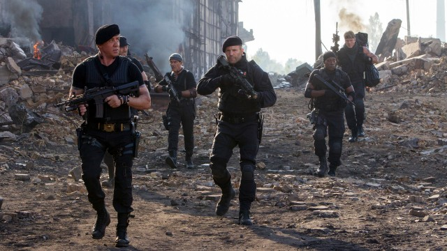 Expendables 3 - Footage 1