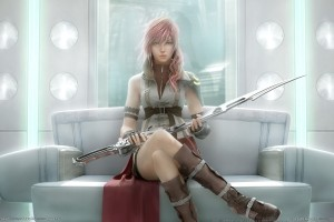 FFXIII - Lightning Promo Art