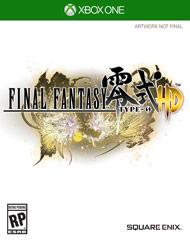 Final Fantasy Type-0 HD - Xbox One Box Art