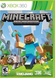 Minecraft- Xbox 360 Box Artr