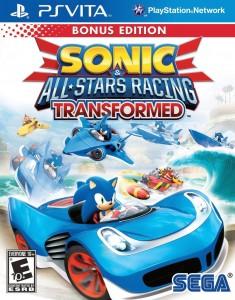 Sonic & All-Stars Racing Transformed - Box Art