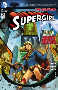 Supergirl - Comic Cover