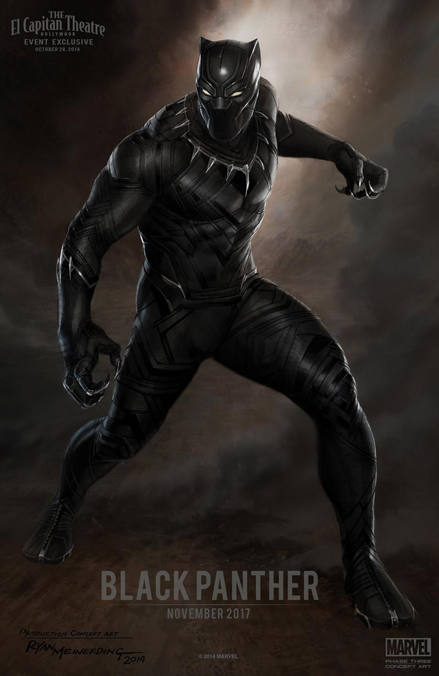 Black Panther - Costume Concept