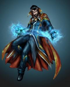 Doctor Strange - Comics Art