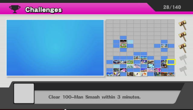 Super Smash Bros. - Challenges