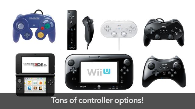 Super Smash Bros. - Controllers