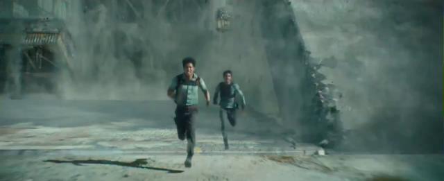 The Maze Runner - Footage 6