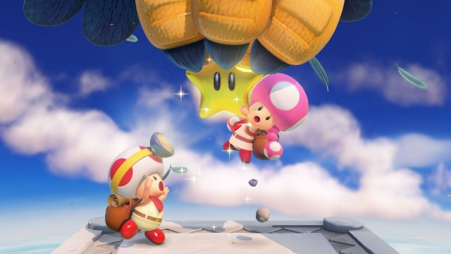 Captain Toad Treasure Tracker - Gameplay