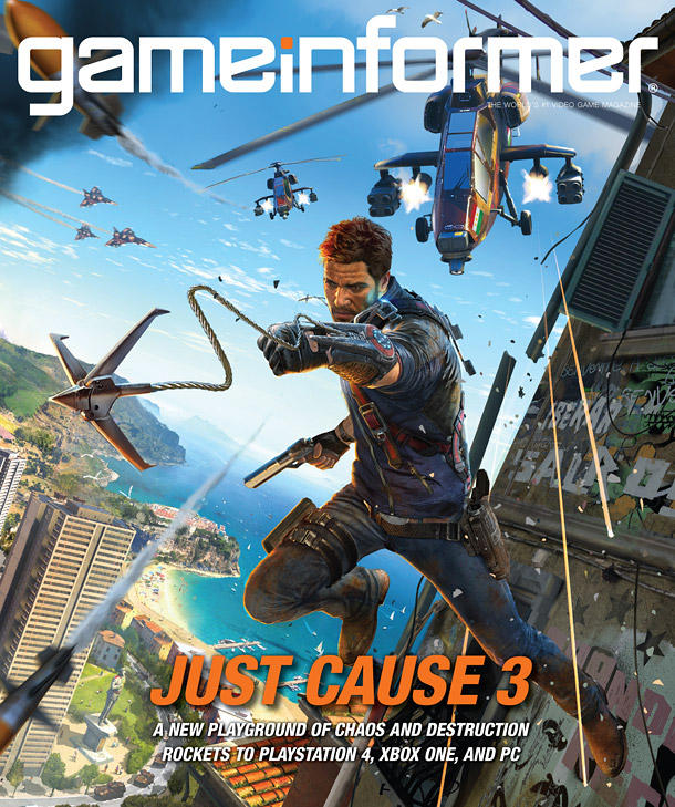 Just Cause 3 - Game Informer Cover