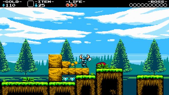 Shovel Knight - Gameplay