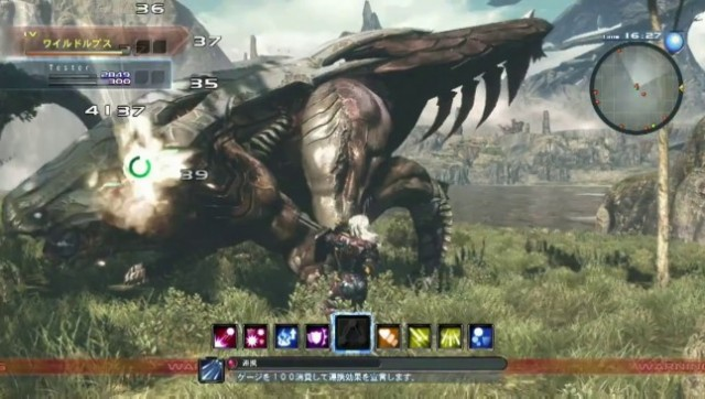 Xenoblade Chronicles X - Gameplay