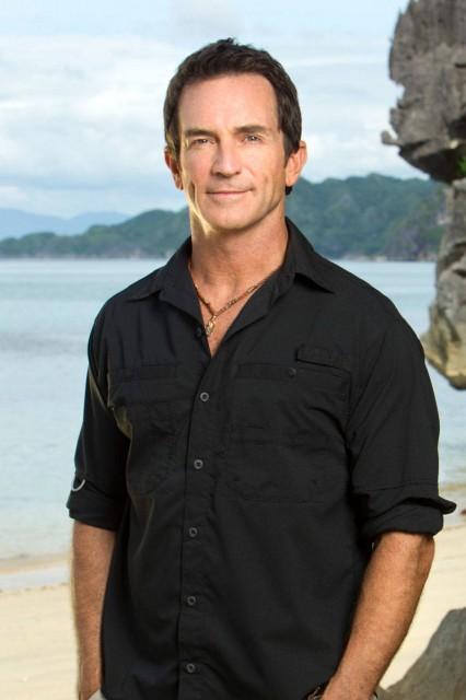 Survivor host Jeff Probst.