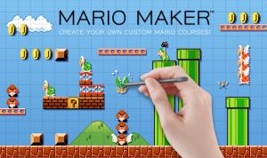 Mario Maker - Promo Art