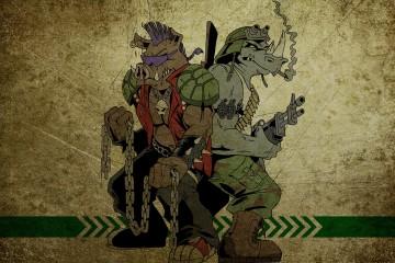 TMNT - Bebop, Rocksteady Art